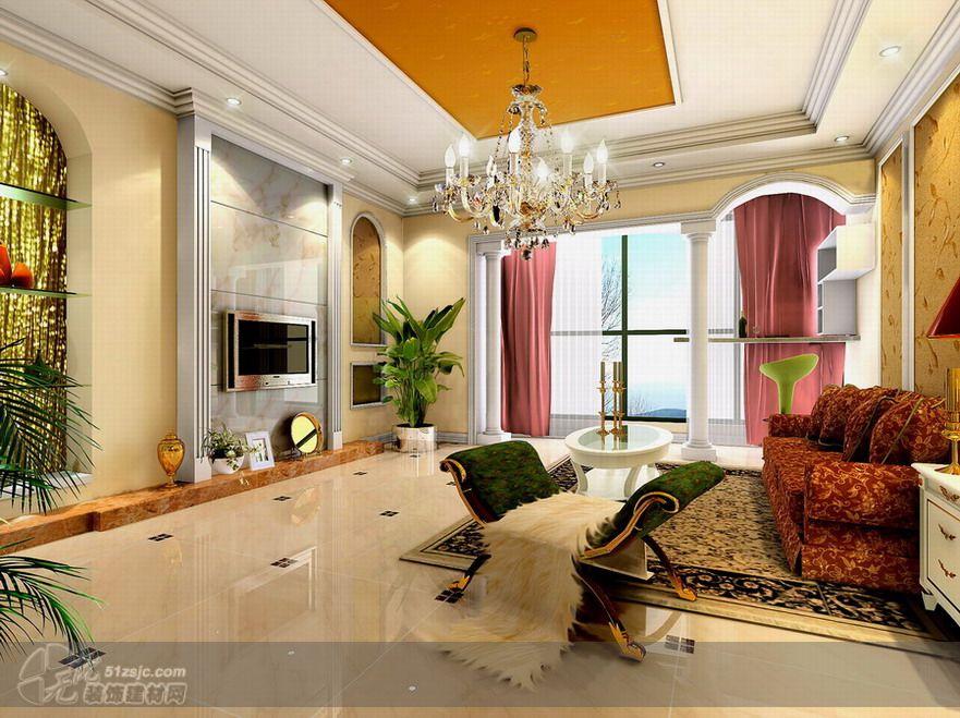 客厅 三居室,客厅 设计展示 杭州瑞博装饰工程有限公司 无忧装饰建材